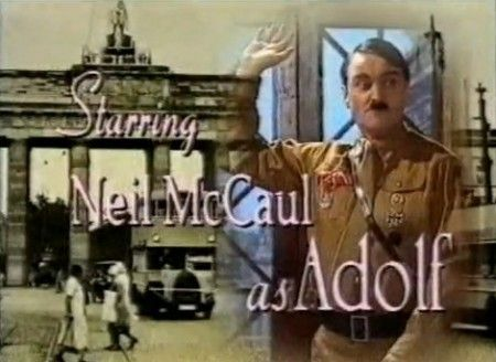 """Canceled After Only One Episode - Heil Honey I'm Home! In what one critic described as """"perhaps the world's most tasteless situation comedy,"""" Heil Honey I'm Home! featured Adolf Hitler and Eva Braun moving in to an apartment next door to a pair of Jewish neighbors. Can you believe it was met with universal outrage?!  Needless to say, Heil Honey only aired for one episode, and all future episodes were cancelled (and hopefully destroyed) immediately. The premiere, though, lives on through…"""