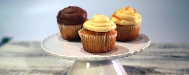 Filled Cupcakes Three Ways Recipe by Carla Hall | The Chew - ABC.com