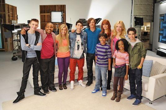 Kickin' It Cast with Jessie Cast