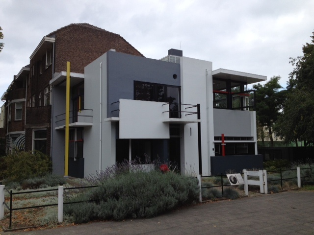 The Rietveld Schroder house in Utrecht.