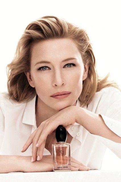Cate Blanchett For Giorgio Armani
