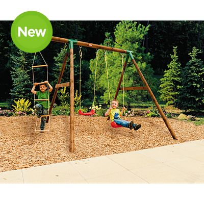 This Little Tikes Swing Set Is An Excellent Addition To Your Childrenu0027s  Outdoor Play.