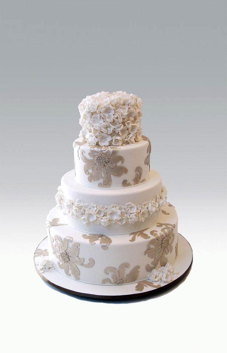 best wedding cake images on pinterest cake wedding petit