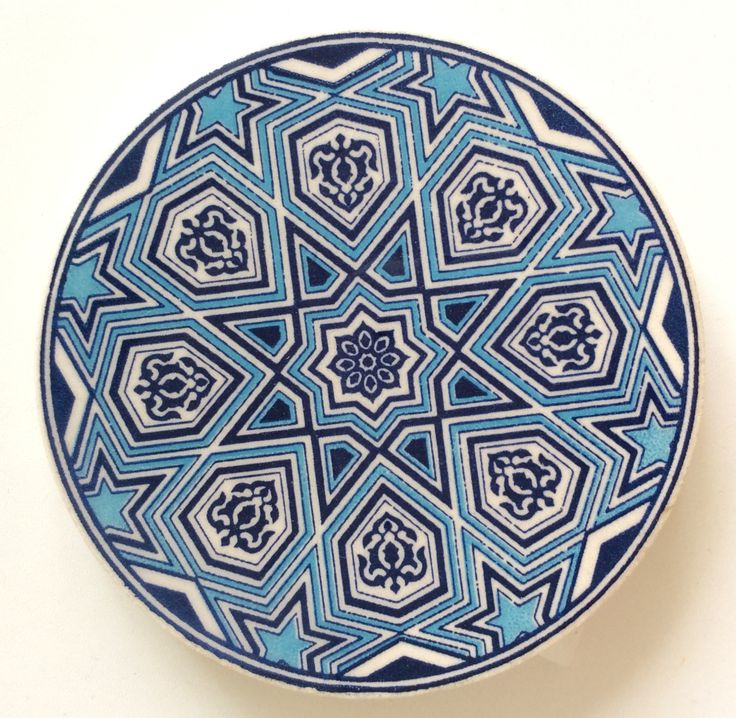 *** Free shipping Worldwide *** How pretty are these charming ceramic coasters! You will get so many compliments on them you'll want to order more!! They make the classiest hostess gift!! Create you