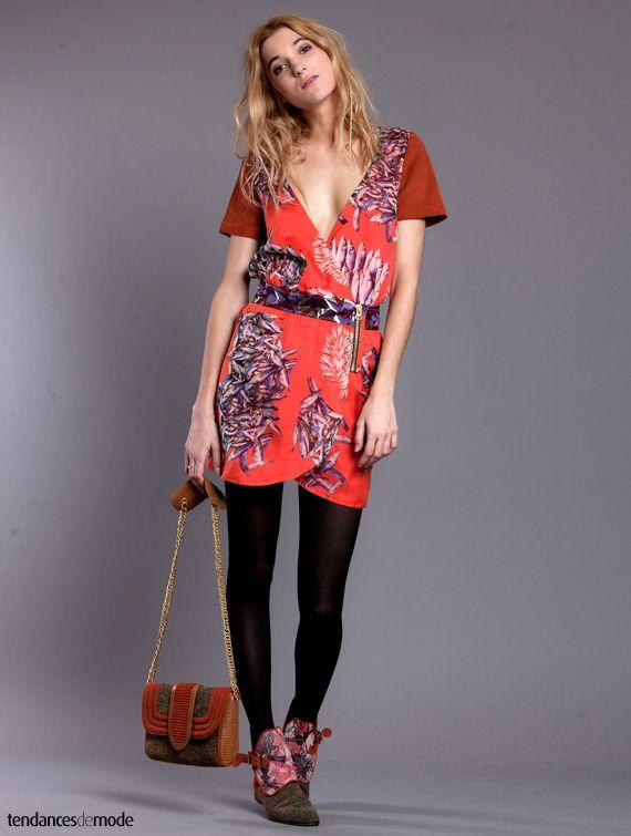 jolie robe portefeuille zippée, Heimstone - Automne/hiver 2013-2014
