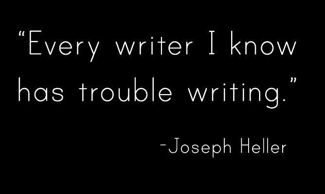 Writing ain't easy... #MAWPrints