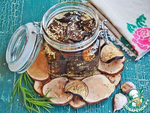 Вяленые баклажаны с кунжутом - кулинарный рецепт