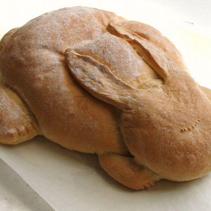 Bak een brood voor Pasen. Easter bread
