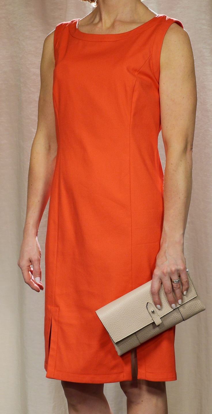 Marella dress and Decadent clutch