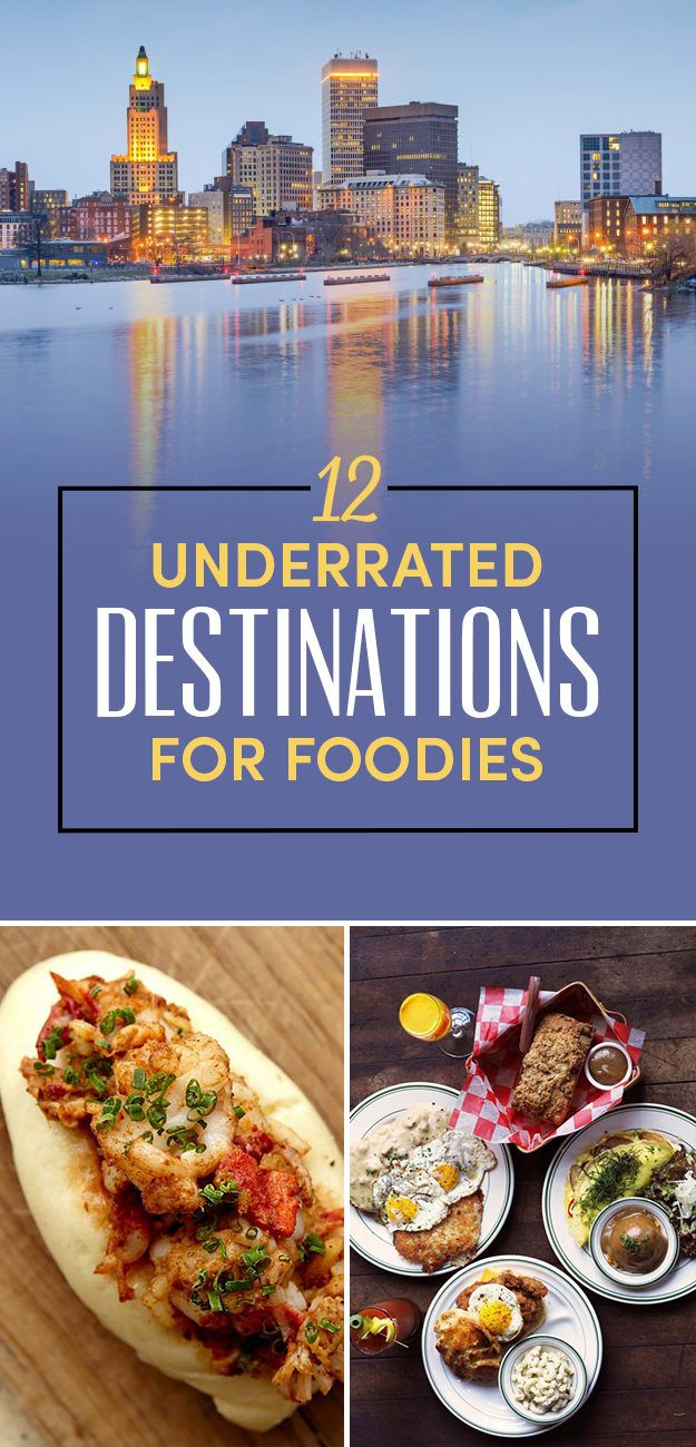 12 Of The Most Underrated Food Cities In America Providence Rhode Island Asheville North Carolina Charlottesville Virginia Healdsburg Cali St. Louis Traverse City Michigan Scottsdale Arizona Portland Maine Boulder CO Greenville South Carolina Birmingham Alabama Catskills New York
