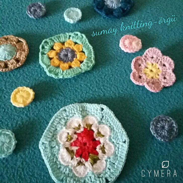 Cath kidston model crochetting