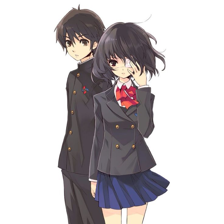 Mei And Kouichi  Horror Another  Anime, All Anime
