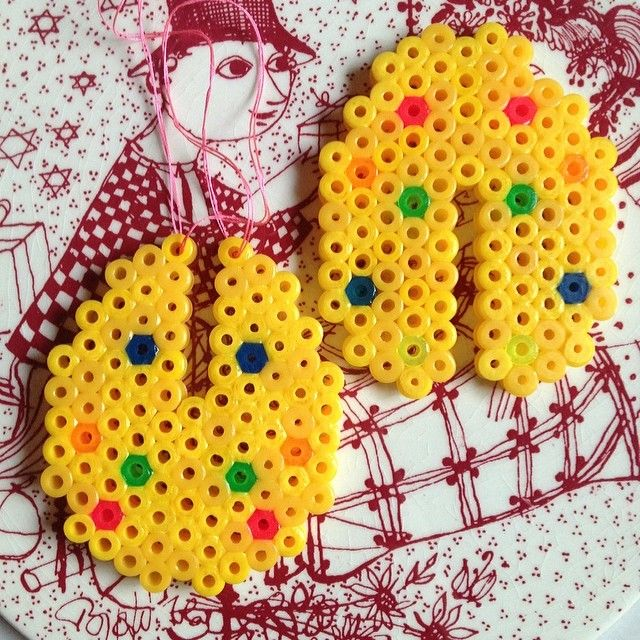 Easter egg hama beads by trinehoest