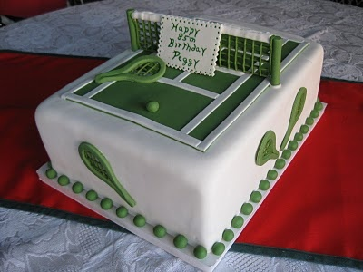 Sugar Chef: TENNIS COURT CAKE