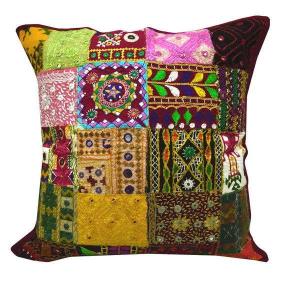 1000 Images About Gujarati Embroidery Pillow On Pinterest