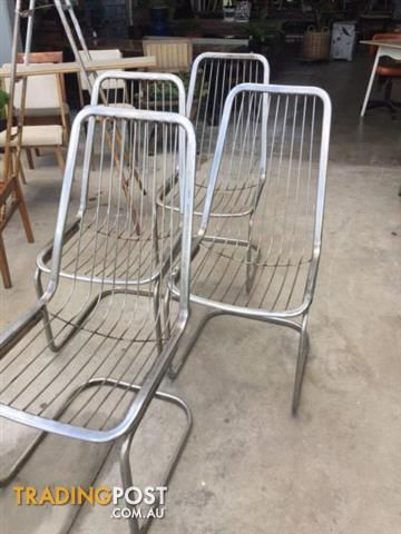 High back vintage chairs for sale in Sunshine North VIC   High back vintage chairs
