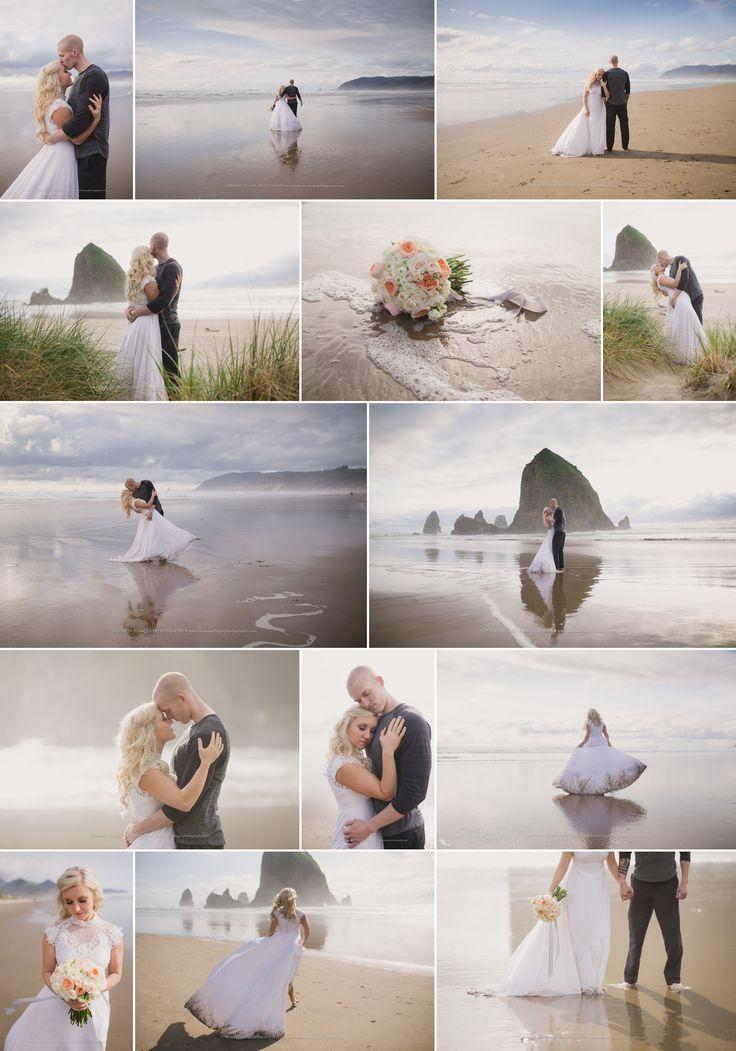 Oregon Coast Elopement, Cannon Beach Elopement Wedding, Beach Wedding, Oregon Elopement Photographer, Shannon Hager Photography
