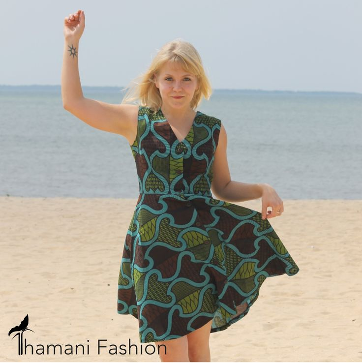 Flair dress summer collection 2015 www.thamanifashion.nl