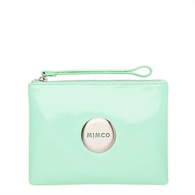 #mimcomuse lovely medium pouch in the colour seafoam, perfect splash of pastel that will compliment any outfit.