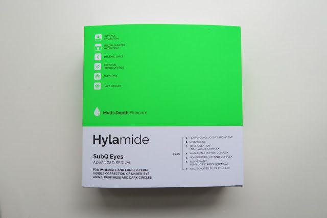 Caroline Hirons: Hylamide SubQ Eyes