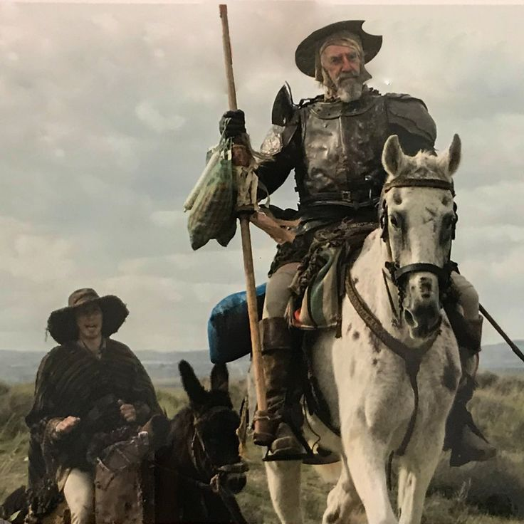 First Photo For Terry Gilliam's Long-Awaited Film THE MAN WHO KILLED DON QUIXOTE