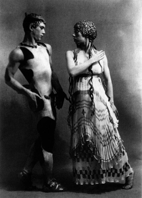 Vaslav Nijinsky and Bronislava Nijinska