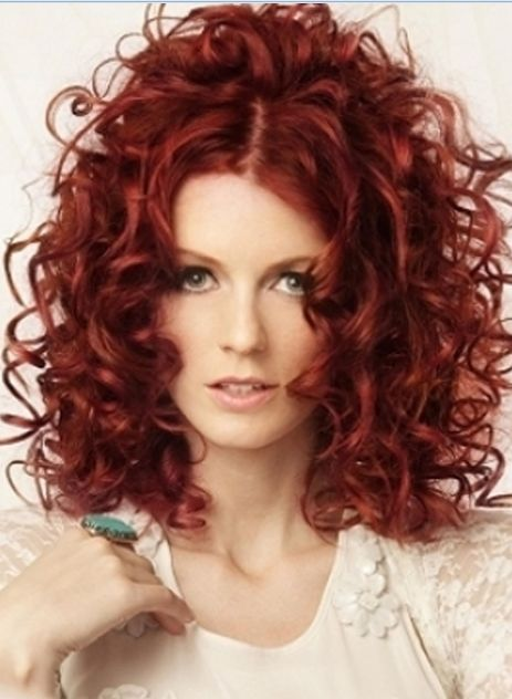 Red Hair Color Trends 2014