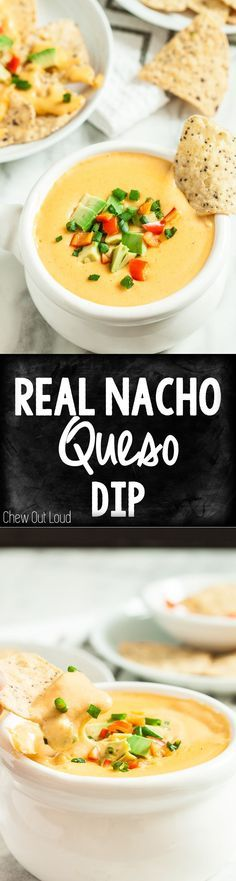 Homemade Nacho Queso Homemade Nacho Queso Dip. WAY better than store-bought. Nothing processed. Surprise ingredient keeps it smooth and velvety for days. #snack #appetizer #gameday Recipe : http://ift.tt/1hGiZgA And @ItsNutella  http://ift.tt/2v8iUYW