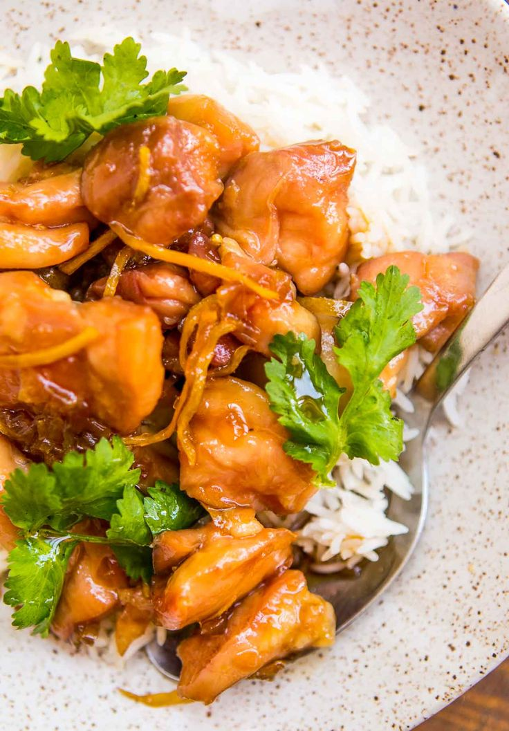 This easy stovetop Caramel Chicken recipe is a perfect dinner, quick to make and delicious to eat! A signature dish from The Slanted Door in San Francisco.