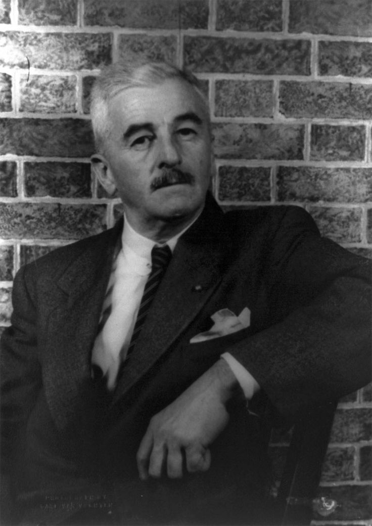 an analysis of the southern writing style of the author william faulkner A rose for emily is a short story by american author william faulkner, first published in  in a southern town somewhere in jefferson b  author's style.