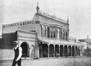 Alexander & Munro, Drapers, Toowoomba, ca. 1894 / John Oxley Library, State Library of Queensland, Neg: 6795 http://hdl.handle.net/10462/deriv/202628 | thefashionarchives.org