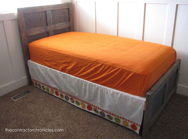 Build your own pottery barn kids emmett twin bed