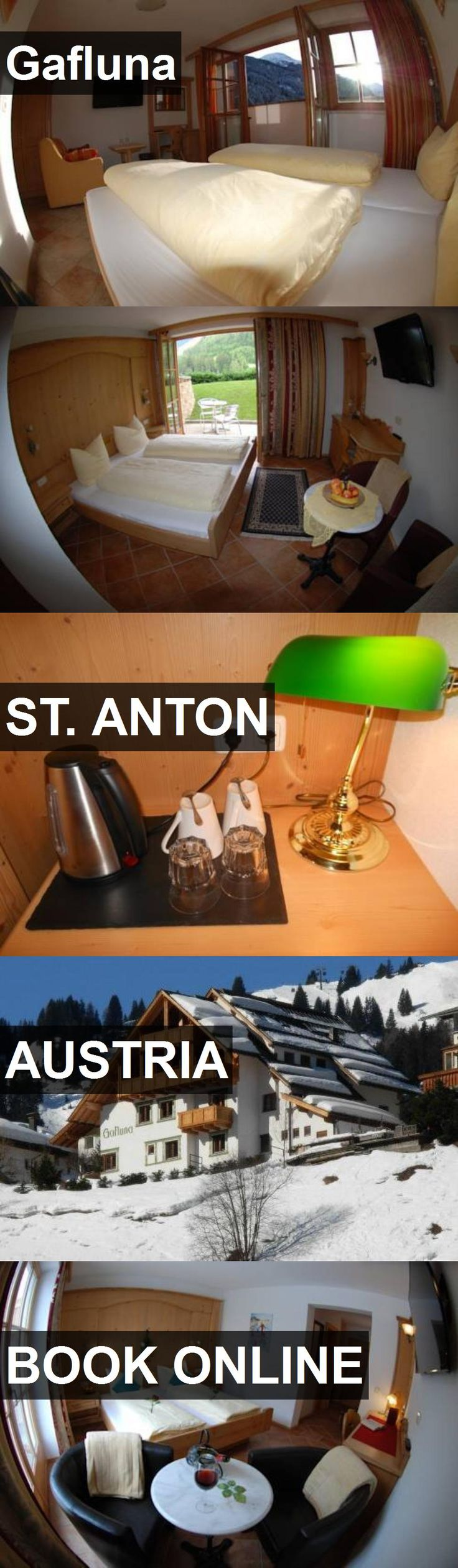 Hotel Gafluna in St. Anton, Austria. For more information, photos, reviews and best prices please follow the link. #Austria #St.Anton #travel #vacation #hotel