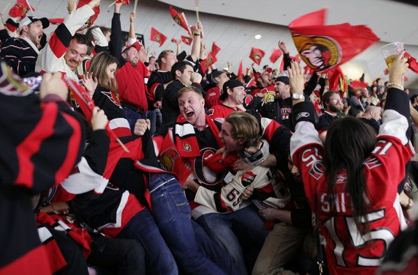 Ottawa Senators Are Welcoming an N.H.L. Crowd in Soccer's Image - NYTimes.com