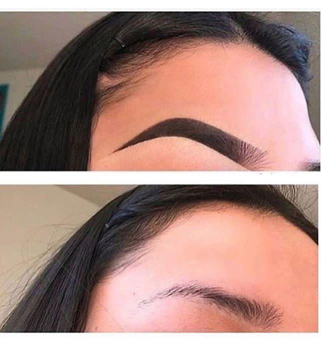 Pin De Melanie M Em Eyebrows Looks Maquiagem