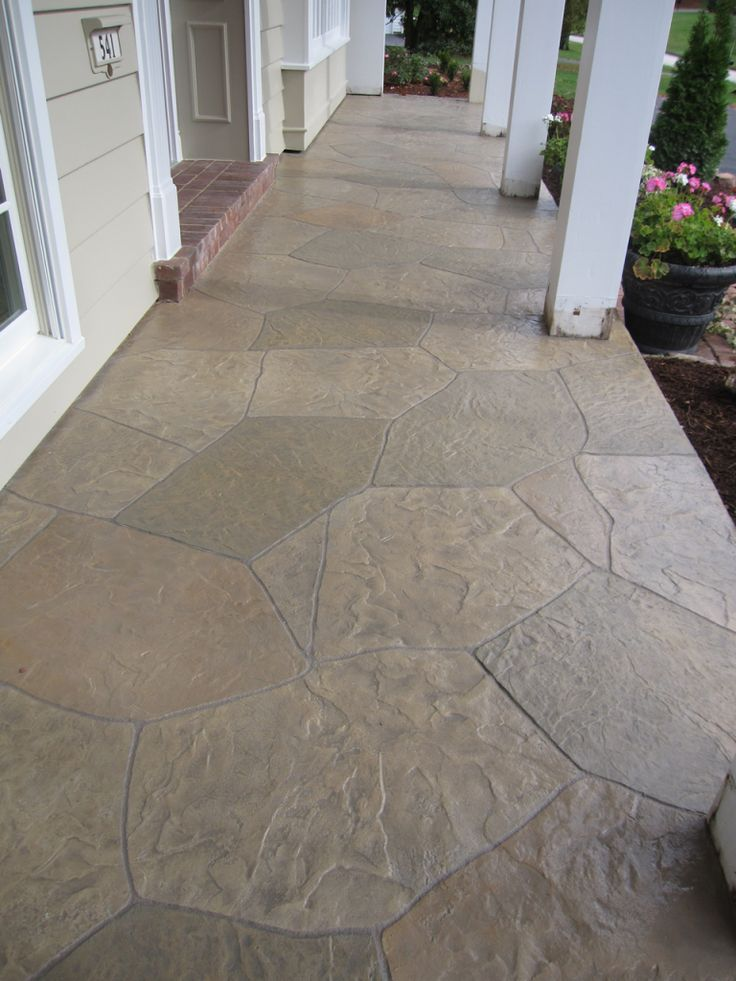 Concrete Overlay Random: 1000+ Ideas About Stamped Concrete Patterns On Pinterest