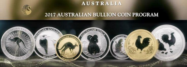 Perth Mint Releases Australian 2017 Bullion Coin Program Details