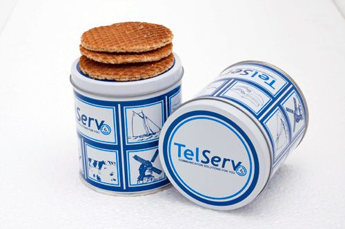 TelServ will be serving freshly made stroopwafels at capacity Europe again. Don't miss out! #stroopwafel #Ducth #Telecom