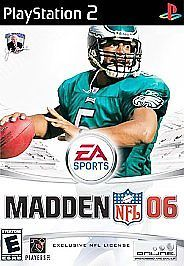 Madden NFL 06 (Sony PlayStation 2, 2005) Football Video Game $1.99