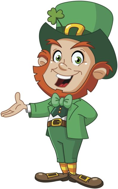 leprechaun | ... magical and mischievous leprechauns leave tiny leprechaun footprints