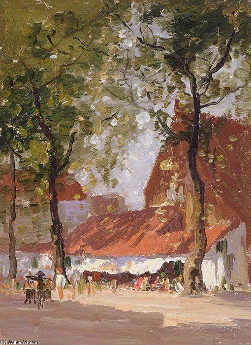 Java de Elioth Gruner (1882-1939, New Zealand)