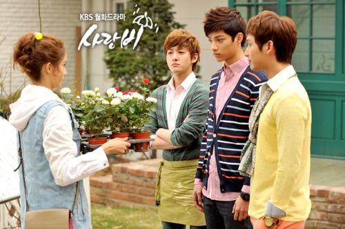 Cast Of Love Rain Korean Drama