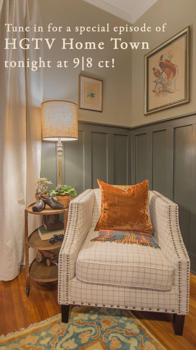 The Burks House Hgtv Living Room Guest Bedroom Design Home Town Hgtv