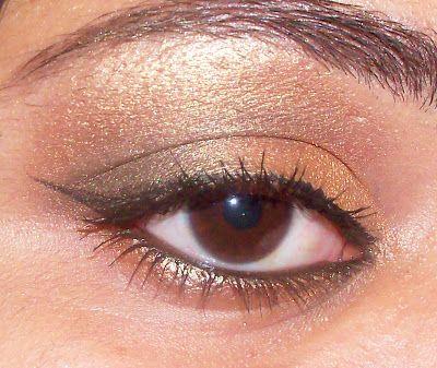 Gold and pink smokey eye makeup (Indian eye makeup video)