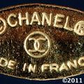 What Do the 7 CHANEL Costume Jewelry Marks Mean?: Chanel Oval Mark - 1980s