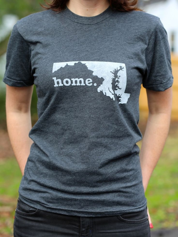 The Home. T - Maryland Home T, $25.00 (http://www.thehomet.com/maryland-home-t-shirt/)