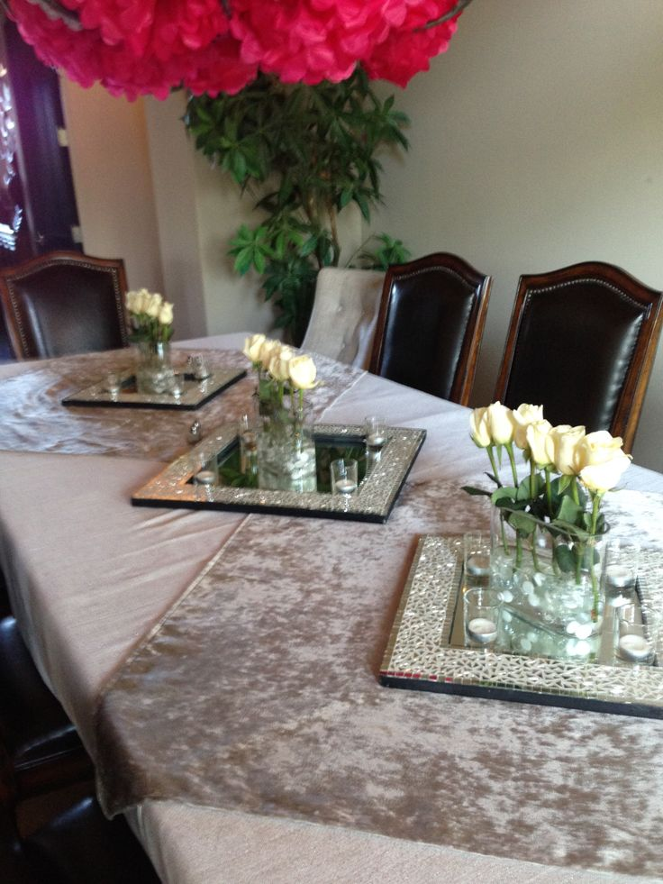 Prom Dinner Party Ideas Part - 21: Table Decor!