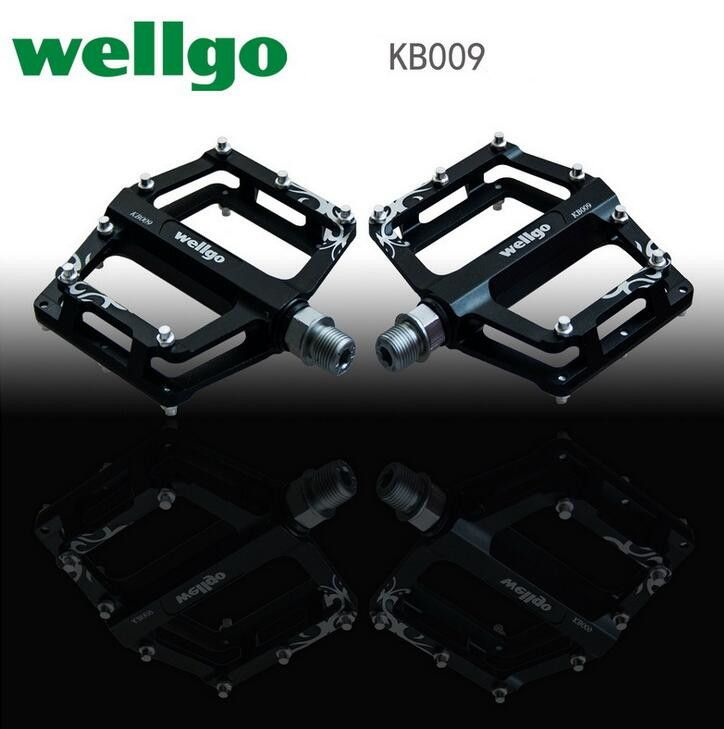 Wellgo KB009 double DU Ultralight Aluminum Alloy Pedals Bmx Mountain Bicycle Cycling Bike Pedal Bicicleta Mtb Parts Time-limited