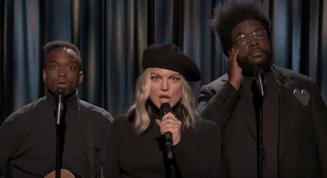 Fergie Joins 'Black Simon And Garfunkel' For A Thoughtful Cover Of 'My Humps'