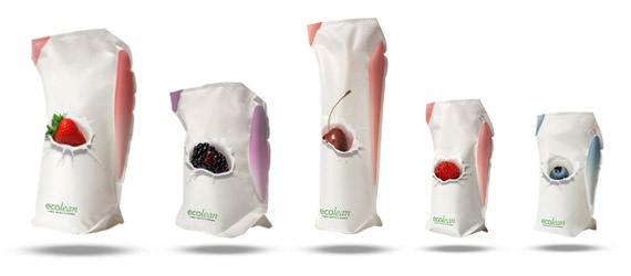 Ecolean - lightweight packaging: Design Inspiration, Milk Packaging, Creative Packaging Design, Originals Products Packaging, Design Galleries, Ecolean Air, Lightweight Packaging, Ecolean Packaging, Packaging Ideas